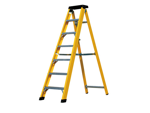 Glass steel ladder